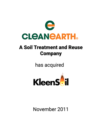 Griffin Advises Clean Earth in its Acquisition of Kleen Soil