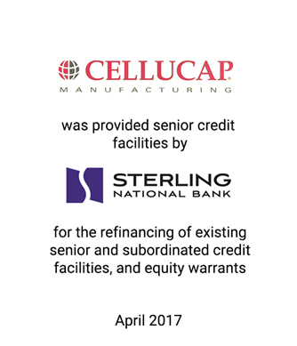 Griffin Serves as Financial Advisor and Placement Agent to Cellucap