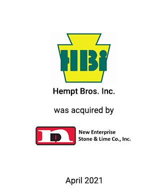 Griffin Financial Group Serves as Exclusive Investment Banker to Hempt Bros., Inc.