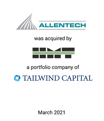 Griffin Financial Group Serves as Exclusive Investment Banker to Allentech, Inc.