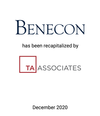 Griffin Transaction Announcement: TA Completes Investment in The Benecon Group