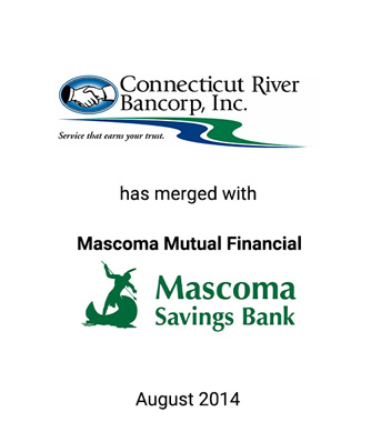 Griffin Financial Group Advises Connecticut River Bancorp, Inc. in its Merger with Mascoma Mutual Financial Services Corporation