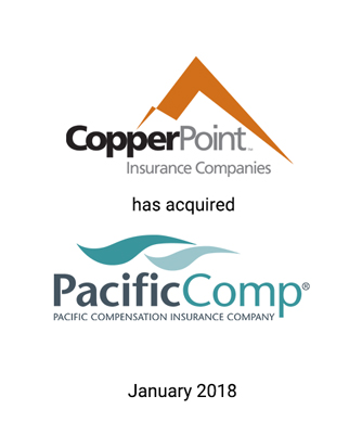 Griffin Advises CopperPoint Mutual Insurance Company in its Acquisition of Pacific Compensation Insurance
