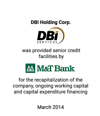 Griffin Represents Leading Infrastructure Services Company DBI in $100 Million Recapitalization