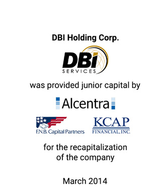 Griffin Serves as Exclusive Financial Advisor and Placement Agent to DBI Holding Corp.