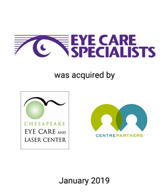 Griffin Serves as Exclusive Investment Banker to Eye Care Specialists, P.C. and KSC Holdings, Inc.