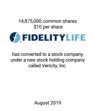 Griffin Serves as Co-financial Advisor to Fidelity Life Insurance Company