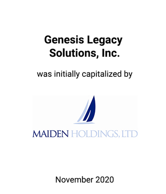 Griffin Financial Serves as Exclusive Financial Advisor to Genesis Legacy Solutions Inc.