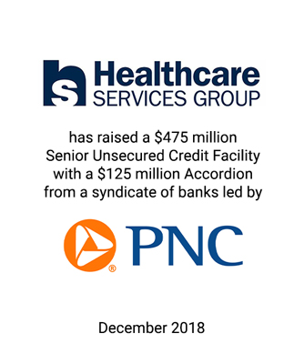 Griffin Serves as Exclusive Financial Advisor to Healthcare Services Group