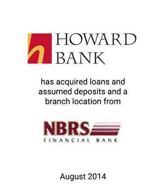 Griffin Serves as Exclusive Financial Advisor to Howard Bancorp, Inc.