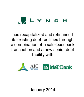 Griffin Advises Lynch Exhibits, Inc., a Trade Show Exhibit Designer and Fabricator, in Recapitalization and Refinancing of Existing Debt Facilities