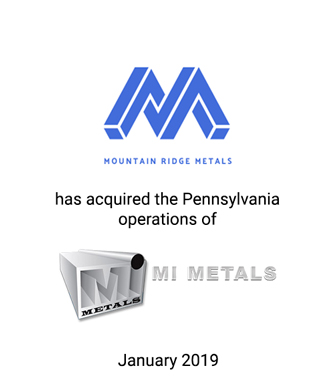 Griffin Serves as Exclusive Investment Banker to Mountain Ridge Metals