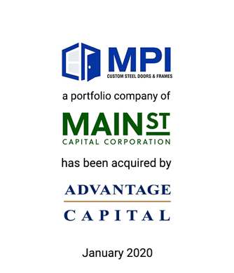 Griffin Serves as Investment Banker to The MPI Group, LLC in its Sale to Advantage Capital