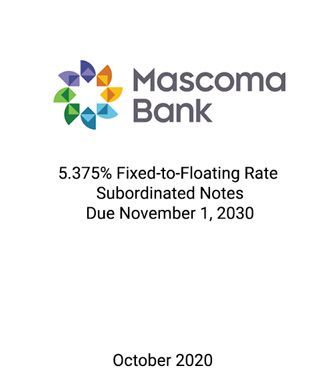 Griffin Serves as Placement Agent to Mascoma Bank in Connection with its Private Placement of Subordinated Notes