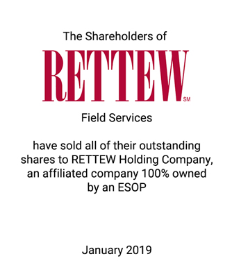 Griffin Assists RETTEW in Becoming a 100 Percent ESOP-Owned Firm