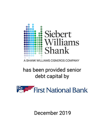 Griffin Serves as Financial Advisor and Placement Agent to Siebert Williams Shank & Co.