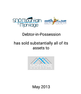 Griffin Advises Montage Mountain, L.P. on its Acquisition of the Assets of Sno Mountain, L.P., Debtor-in-Possession