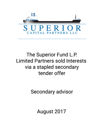 Griffin Advises Superior Capital Partners on Successful Stapled Secondary Tender Offer