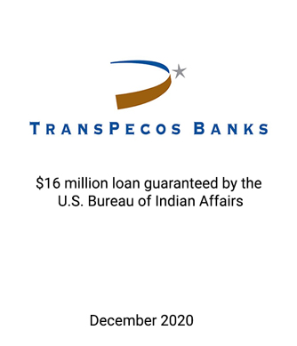 Griffin Financial Serves as Placement Agent to Transpeco Banks