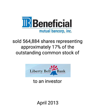 Griffin Financial Group Serves as Investment Banker to Beneficial Mutual Bancorp, Inc.