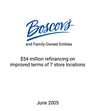 Griffin Serves as Financial Advisor to Boscov's