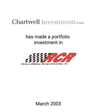 Griffin Serves as Financial Advisor to Chartwell Investments