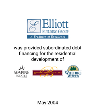 Griffin Serves as Financial Advisor to The Elliot Building Group, Ltd.