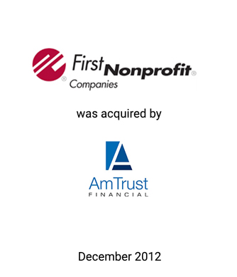 Griffin Serves as Exclusive Financial Advisor to First Nonprofit Companies, Inc. and its Shareholders