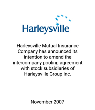 Griffin Serves as Exclusive Financial Advisor to Harleysville Mutual Insurance Company
