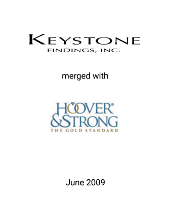 Griffin Assists Keystone Findings in Merger with Hoover & Strong