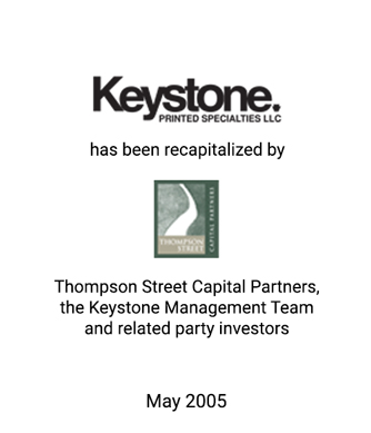 Griffin Serves as Financial Advisor to Keystone Printed Specialties L.L.C.