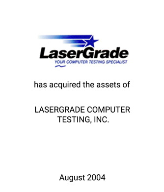 Griffin Serves as Financial Advisor to LaserGrade, L.P.