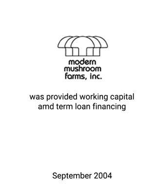 Griffin Serves as Financial Advisor to Modern Mushroom Farms, Inc.