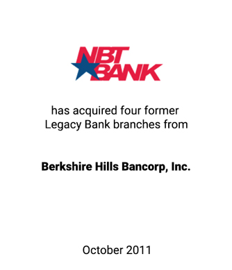 Griffin Serves as Financial Advisor to NBT Bancorp Inc.