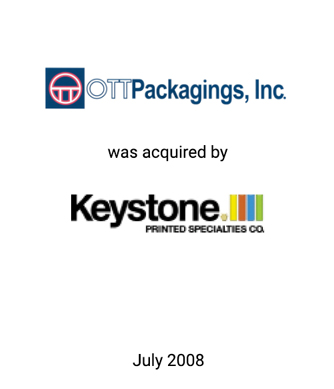 Griffin Serves as Exclusive Financial Advisor to Ott Packagings, Inc.