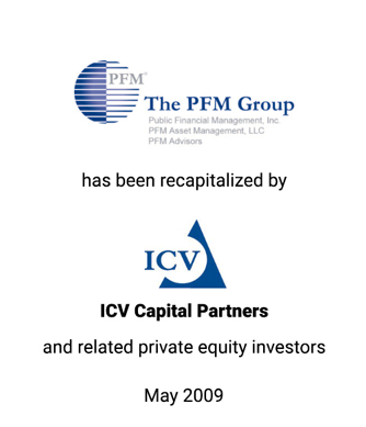 Griffin Serves as Exclusive Financial Advisor to The PFM Group
