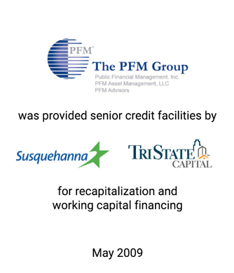 Griffin Serves as Exclusive Financial Advisor and Placement Agent to The PFM Group