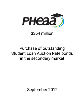 Griffin Serves as Structuring Agent to PHEAA
