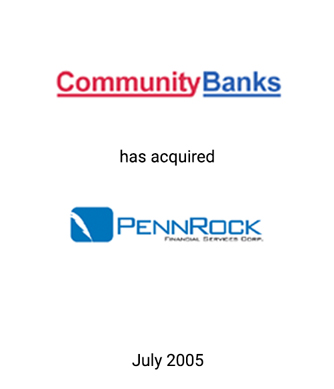 Griffin Serves as Financial Advisor to PennRock Financial Services Corp.