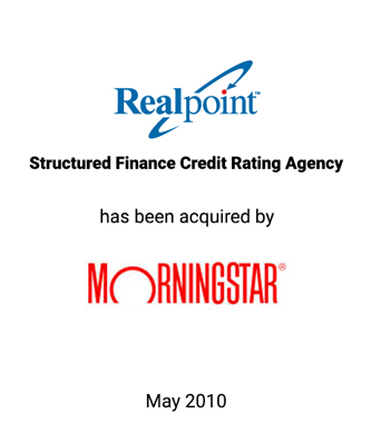 Griffin Advises Realpoint, LLC in Sale to Morningstar, Inc. for $52 Million