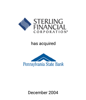 Griffin Serves as Financial Advisor to Sterling Financial Corp.