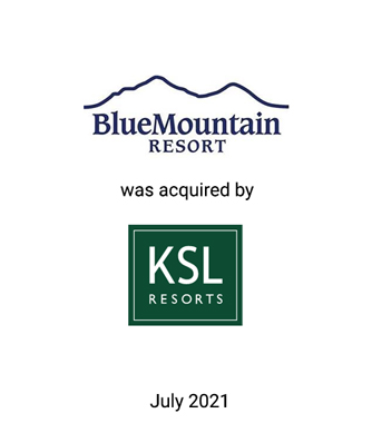 Griffin Financial Group Served as Exclusive Investment Banker to Blue Mountain Resort